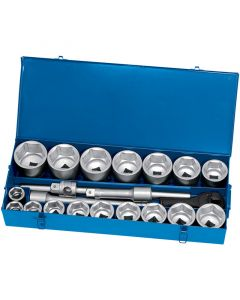 "Draper 1"" SQ.DR SOCKET SET 22PCE 02579"