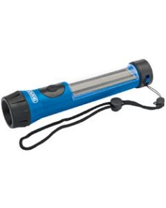 Draper 1 LED Solar Power Rechargeable Torch 03028