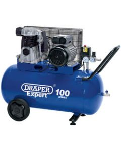 Draper AIR COMP. BELT DRIV.3HP 100LTR 03238