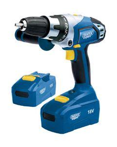 Draper Expert High Quality 18 Volt Combination Cordless Drill Driver 03287