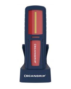 Scangrip Lighting New Generation Uniform High Powered COB LED Handlamp Red 035423R