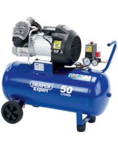 Draper 50L TWIN V OIL COMPRESSOR 05643