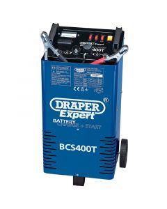 Draper 230V BATT.CHRGR/STRTR+TROLLEY 07263