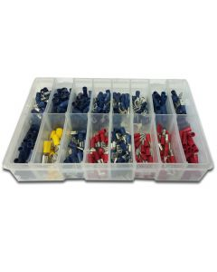 Panther Consumables 365 Piece Assorted Popular Pre Insulated Terminals - Workshop Pack