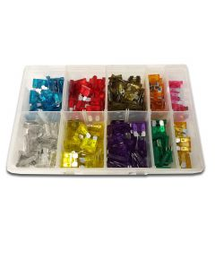 Panther Consumables 250 Piece Assorted Standard Midi Blade Fuses - Workshop Pack
