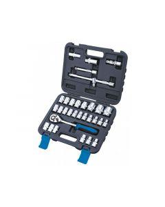 "Ferax Tools 32 Piece 1/2""dr Socket & Accessory Set Great Value Product 179180203"