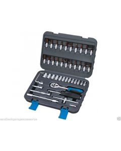 "Ferax Tools 46 Piece 1/4""dr Socket & Accessory Set Great Value Product 179180302"
