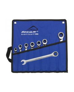 Ferax Tools 8 Piece Combination Ratchet Spanner Set 8 - 19mm 183510106