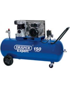 Draper AIR COMP. BELT DRIV.3HP 150LTR 22463