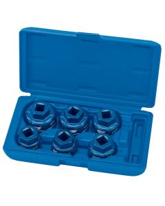 Draper Oil Filter Cap Socket Set 22491