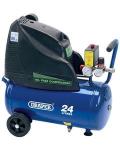 Draper OIL FREE COMPRESSOR 24 LITRE 24978