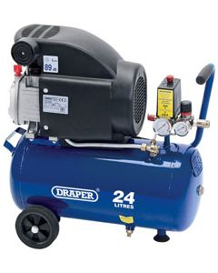 Draper AIR COMPRESSOR 24LT-2HP 230V 24980