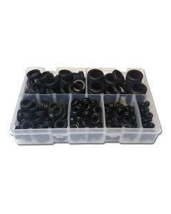 Panther Consumables 120 Piece Assorted Wiring Grommet Set - Workshop Pack