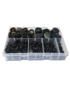 Panther Consumables 120 Piece Assorted Blanking Grommet Set - Workshop Pack