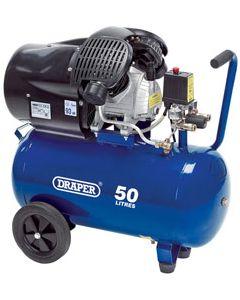 Draper 50L TWIN V OIL COMPRESSOR 29355
