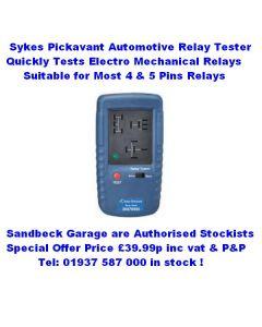 Sykes Pickavant 12 Volt Automotive Relay Tester 30076500