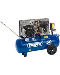 Draper AIR COMP. BELT DRIV.3HP 50LTR 31253