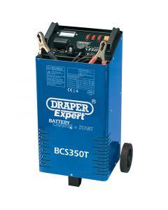 Draper 230V BATT.CHRGR/STRTR+TROLLEY 40180