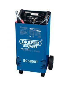 Draper 230V BATT.CHRGR/STRTR+TROLLEY 52030