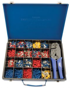 Draper Expert Ratcheting Crimping Tool & Terminal Kit Approx 590 Pieces 56383 Expert Quality