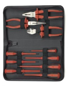 Gearwrench 10 Piece Insulated Pliers and Screwdriver Set 80062