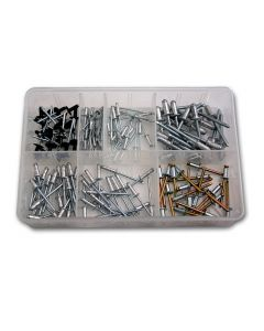Panther Consumables 140 Piece Assorted Rivet Kit - Workshop Pack