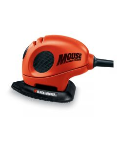 Black & Decker Mouse Detail Sander with Discs & Kit Bag 230volt 55watt KA161BC