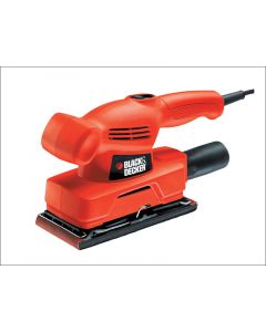 Black and Decker 1/3rd Sheet Orbital Sander 230volt 135watt KA300-GB