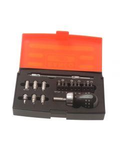Bahco 18 Piece Stubby Ratchet Screwdriver Set BAH808050S18
