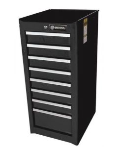 Britool 8 Drawer Side Cabinet in Black BSCR8BL