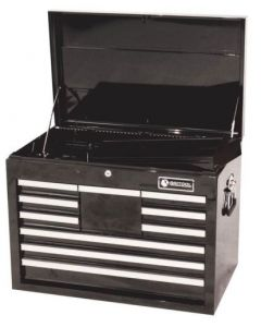 Britool 10 Drawer Tool Chest Top Box in Black BTBR10BL
