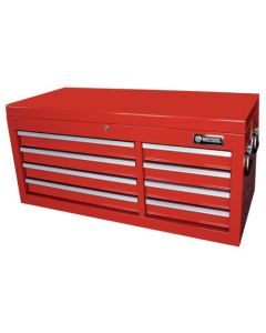 "Britool 8 Drawer Tool Chest Top Box in Red 41"" Wide Model BTBR8W"