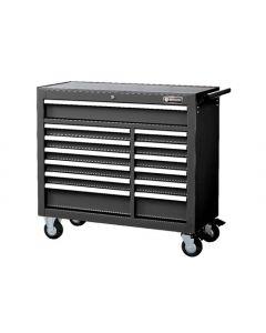 "Britool 13 Drawer Roller Cabinet Roll Cab in Black 41"" Wide Model BTCR13BL"