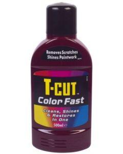 T-Cut Colourfast 500ml Dark Red CWM004