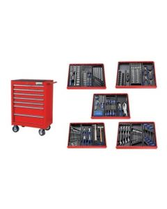 Britool Expert Roller Cabinet (Red) 285 Piece Combination Tool Kit E220328B