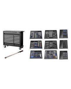 Britool Expert Roller Cabinet 390 Piece Combination Tool Kit E220334B