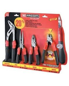 Facom 4 Piece Combination Pliers Set CPE.1PB