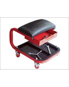 Faithfull Mechanics Steel Seat on Wheels FAIAUSEAT