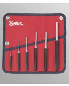 Genius 6 Piece Metric Pin Punch Set PC-566MP