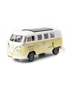 Greenlight 1962 Volkswagen T1 Microbus Space Age Lodge Die-Cast Model Scale 1:18