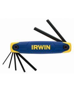 Irwin 7 Piece Folding Hex Key Set 2 - 8mm IRWT10765