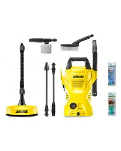 Karcher K2 Compact Car & Home Pressure Washer 110 Bar 240 Volt KARK2CHCAR