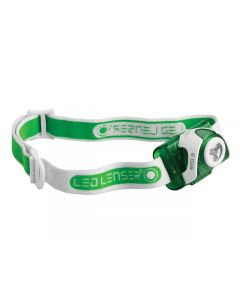 LED Lenser SEO3 Head Lamp Green Test It Pack LED6103