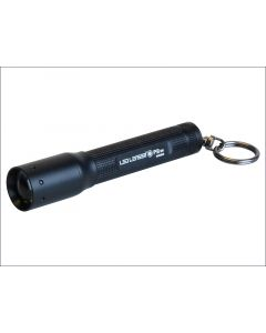 LED Lenser P3BM Black Key Ring Torch Test It Blister Pack LED8403TP
