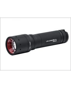LED Lenser T7.2 Tactical Torch Black Test It Blister Pack LED9807TP