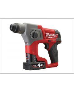 Milwaukee M12 CH-402C Fuel™ SDS Hammer 12 Volt 2 x 4.0Ah Li-Ion M12 CH-402C Fuel