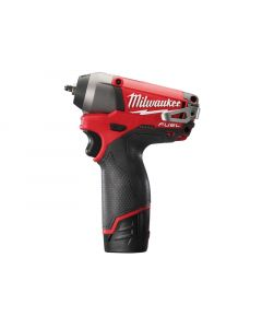 Milwaukee M12 CIW14-202C Fuel™ Compact 1/4in Impact Wrench 12 Volt 2 x 2.0Ah Li-Ion M12 CIW14-202C Fuel