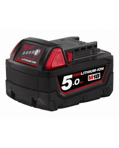 Milwaukee 18 Volt 5.0Ah REDLITHIUM-ION™ Slide Battery Pack 18 Volt 5.0Ah Li-Ion M18B5