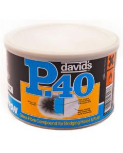 Davids Isopon Glass Fibre Compound Bridger Repair Filler 1.2 Litres P40/2