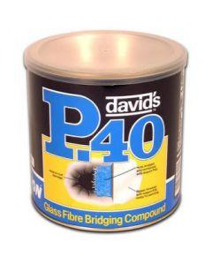 Davids Isopon Glass Fibre Compound Bridger Repair Filler 1.85 Litre P40/4